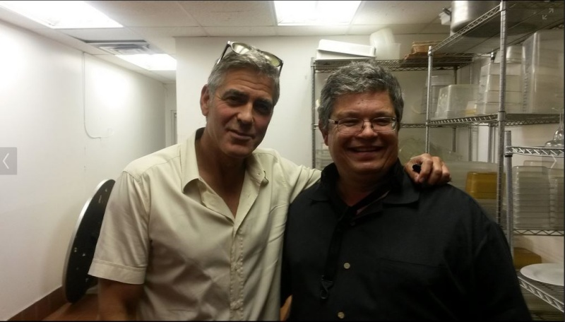 George Clooney attended the concert of David Hall in Kentucky Concer18