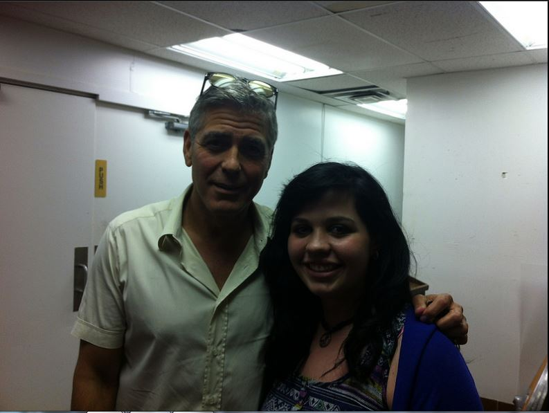 George Clooney attended the concert of David Hall in Kentucky Concer22