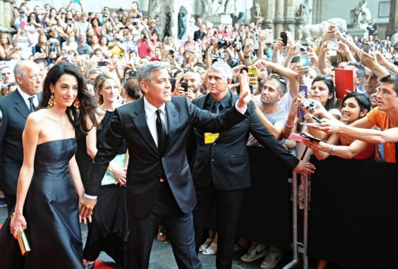 George Clooney and Amal to visit the Celebrity Fight Night Foundation in Florence Dinner17