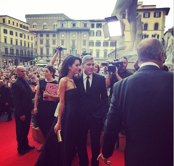 George Clooney and Amal to visit the Celebrity Fight Night Foundation in Florence Dinner18