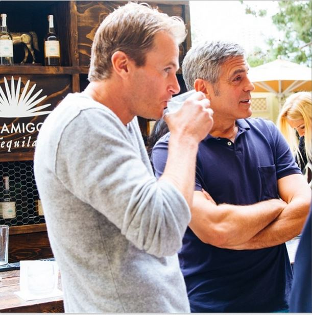 George Clooney and Rande Gerber's Casamigos tequila GENERAL THREAD - Page 8 George10