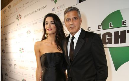 George Clooney and Amal to visit the Celebrity Fight Night Foundation in Florence Get10