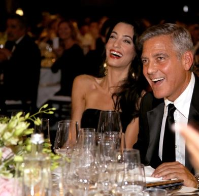 George Clooney and Amal to visit the Celebrity Fight Night Foundation in Florence Get310