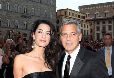 George Clooney and Amal to visit the Celebrity Fight Night Foundation in Florence Get510