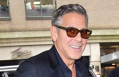 George Clooney at the Carlyle hotel NYC  Get513