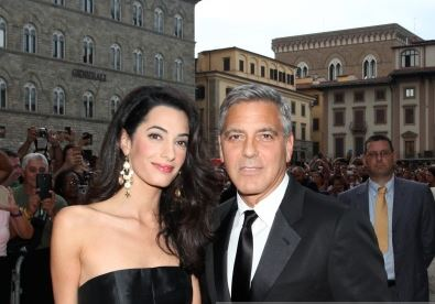 George Clooney and Amal to visit the Celebrity Fight Night Foundation in Florence Get610