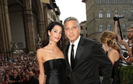 George Clooney and Amal to visit the Celebrity Fight Night Foundation in Florence Get710