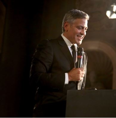 George Clooney and Amal to visit the Celebrity Fight Night Foundation in Florence Get910