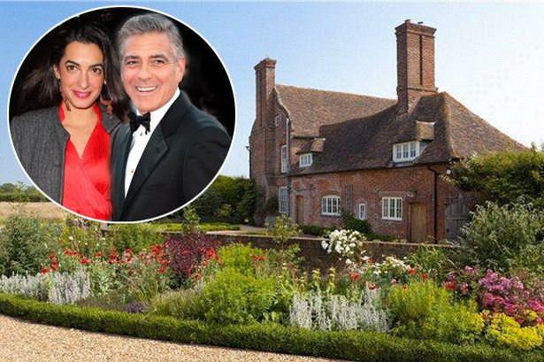 George Clooney and Amal Alamuddin eyeing up £3million manor of Downton Abbey producer Houseg10