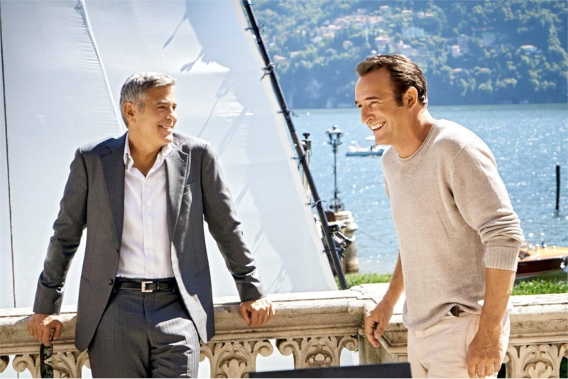 George Clooney and JEAN DUJARDIN doing a new NESPRESSO SPOT - Page 4 It410
