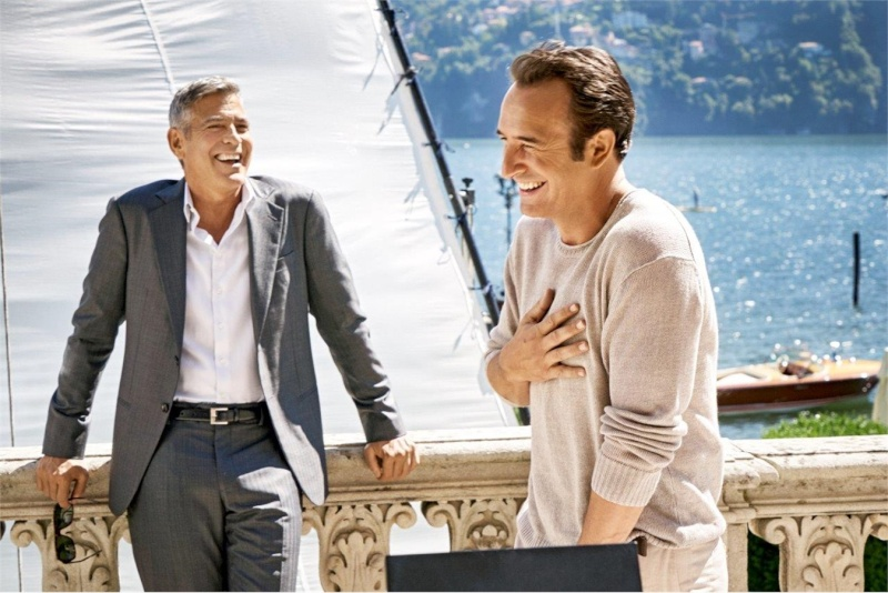 George Clooney and JEAN DUJARDIN doing a new NESPRESSO SPOT - Page 4 It510