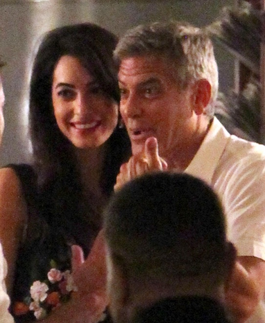 George Clooney & Fiancee Amal Alamuddin Step Out for Romantic Dinner at Harry's Bar! - Page 2 Kim10