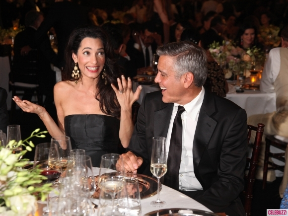 George Clooney and Amal to visit the Celebrity Fight Night Foundation in Florence - Page 4 Kiss411
