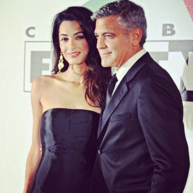 George Clooney and Amal to visit the Celebrity Fight Night Foundation in Florence - Page 3 Naaa10