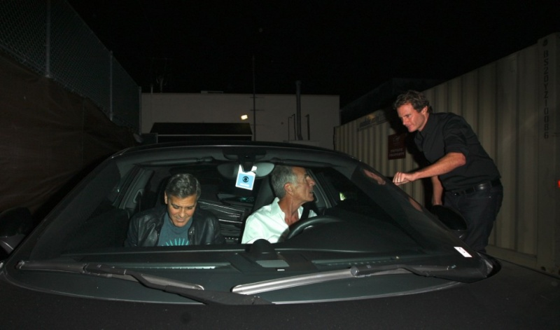 George Clooney out at Saturday night in Hollywood Neu20