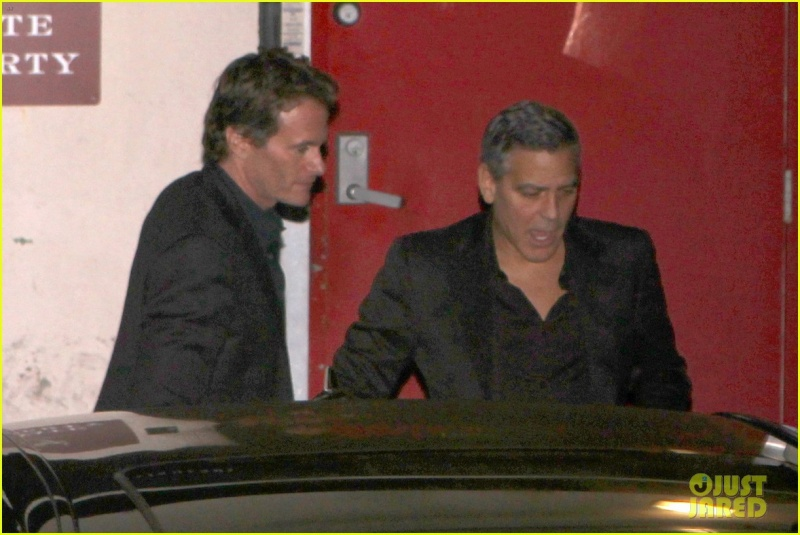 George Clooney and wife at Craig's restaurant in Hollywood Neu21