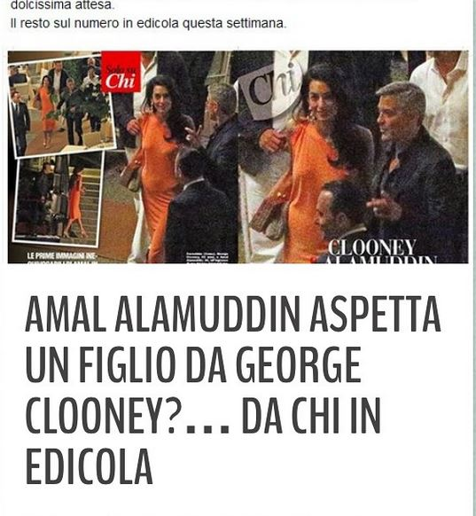 George Clooney and Amal dining at Villa d'este in Lake Como, Italy, on Aug. 29. 2014 Newp10