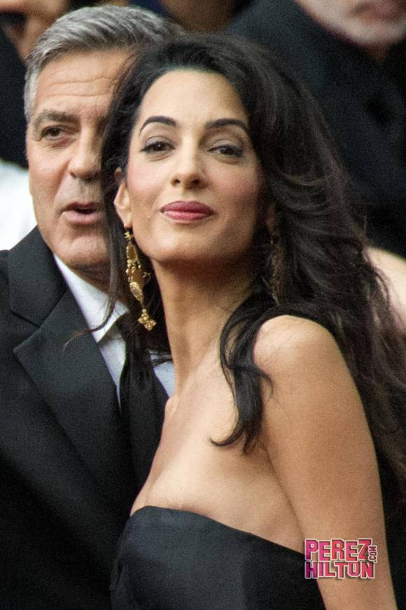 George Clooney and Amal to visit the Celebrity Fight Night Foundation in Florence - Page 4 Pere310