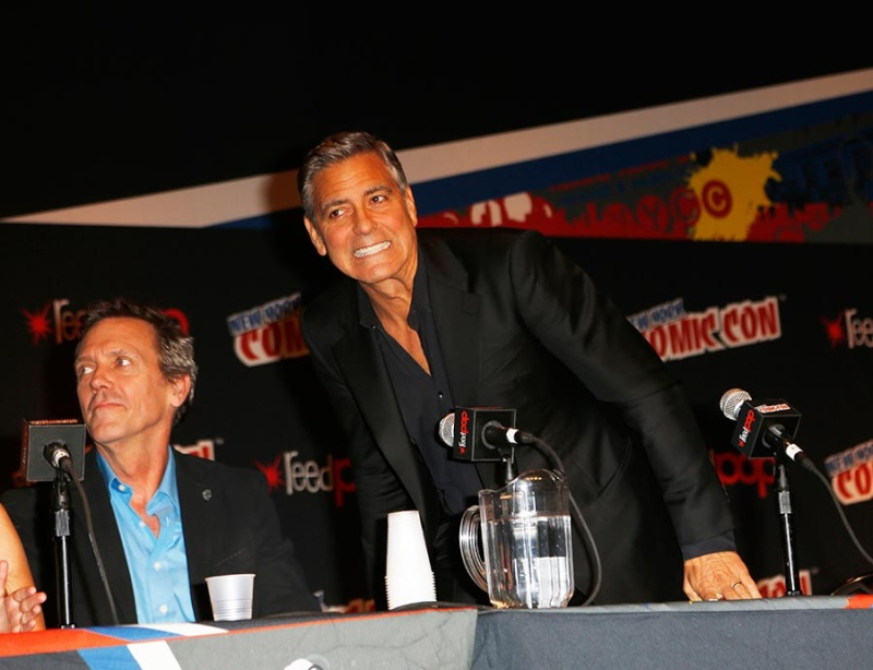 George Clooney Tomorrowland visit ComicCon New York in October Pic14