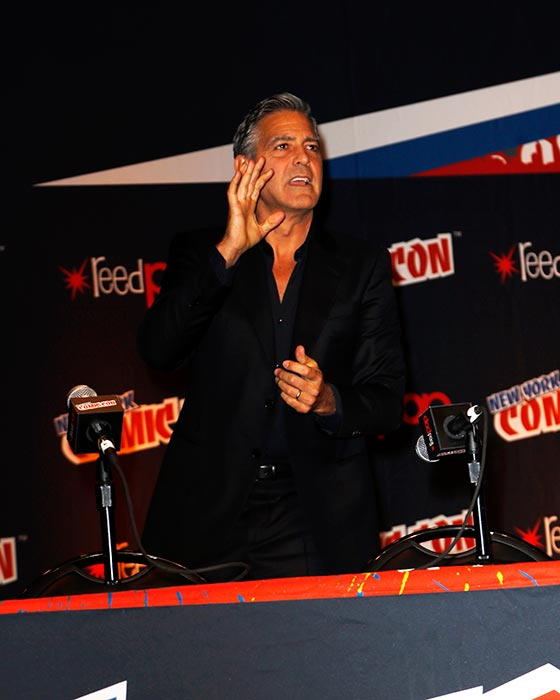 George Clooney Tomorrowland visit ComicCon New York in October Pic214