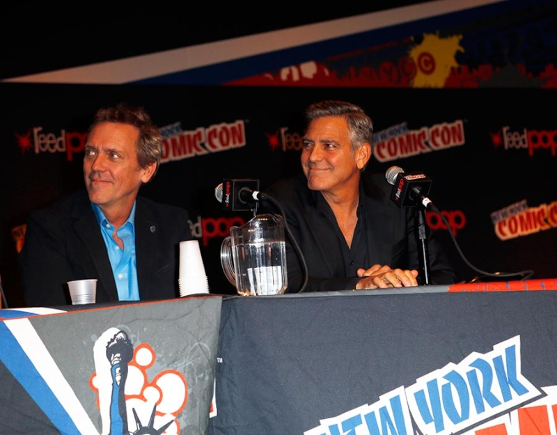 George Clooney Tomorrowland visit ComicCon New York in October Pic313