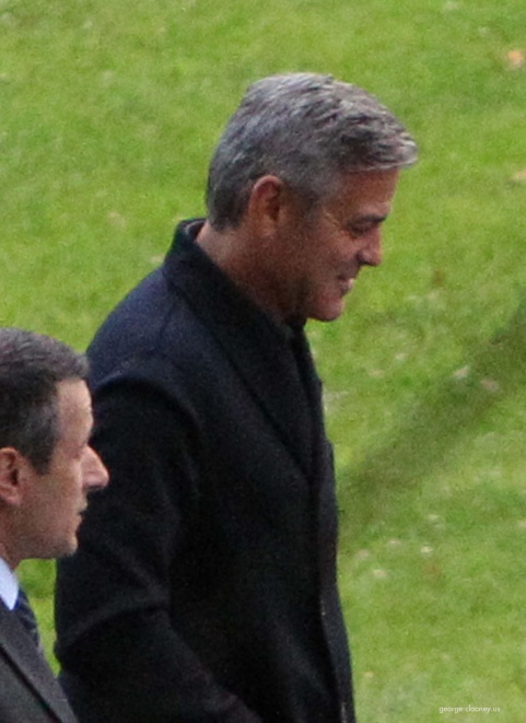 George Clooney and Grant Heslov at Villa D'Este yesterday in Como Pic611