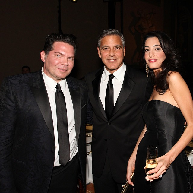 George Clooney and Amal to visit the Celebrity Fight Night Foundation in Florence - Page 3 Picccc10