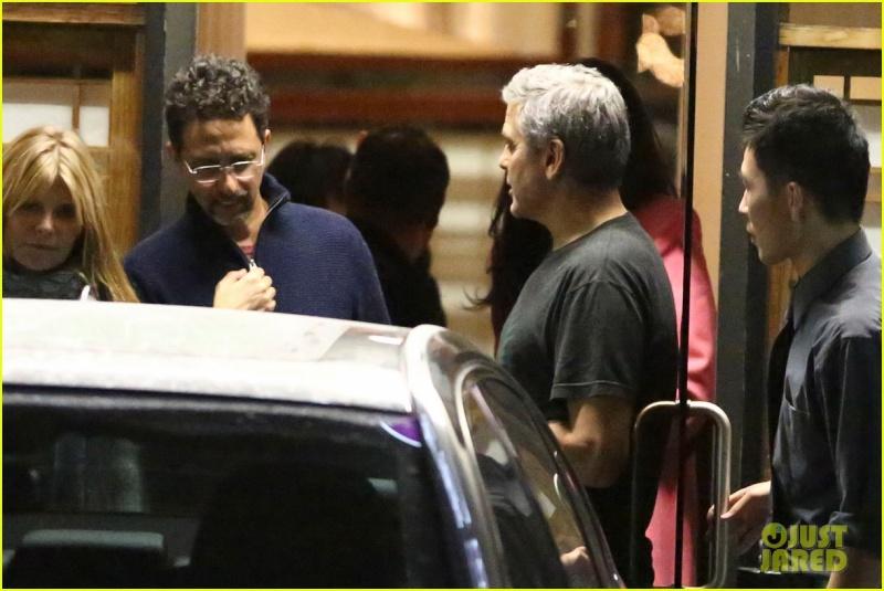 George and Amal Clooney eat at Asanebo again Su11