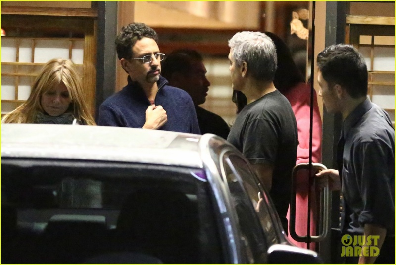 George and Amal Clooney eat at Asanebo again Su411