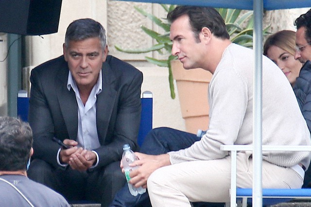 George Clooney and JEAN DUJARDIN doing a new NESPRESSO SPOT - Page 3 Tach410