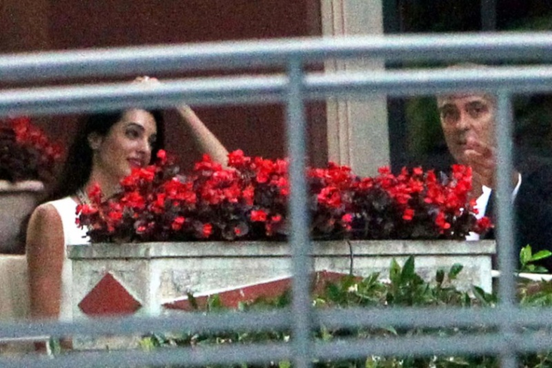 Photos surface of Clooney and Amal scouting wedding venues at Lake Como Ven1110