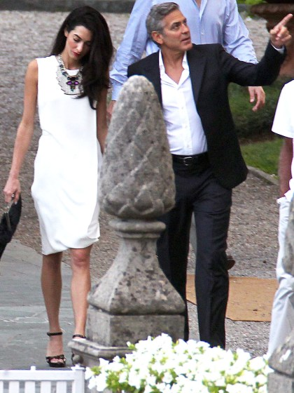 Photos surface of Clooney and Amal scouting wedding venues at Lake Como Ven1210