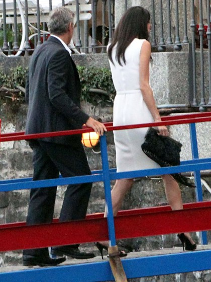 Photos surface of Clooney and Amal scouting wedding venues at Lake Como Ven1310