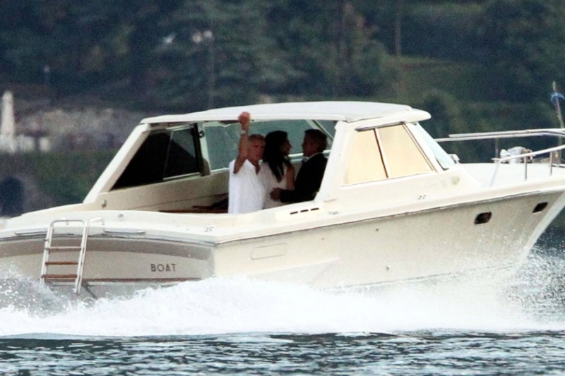 Photos surface of Clooney and Amal scouting wedding venues at Lake Como Ven311