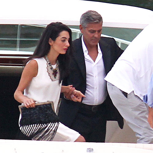 Photos surface of Clooney and Amal scouting wedding venues at Lake Como Ven411