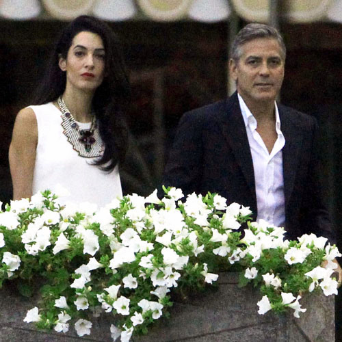Photos surface of Clooney and Amal scouting wedding venues at Lake Como Ven511
