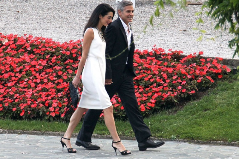 Photos surface of Clooney and Amal scouting wedding venues at Lake Como Ven710