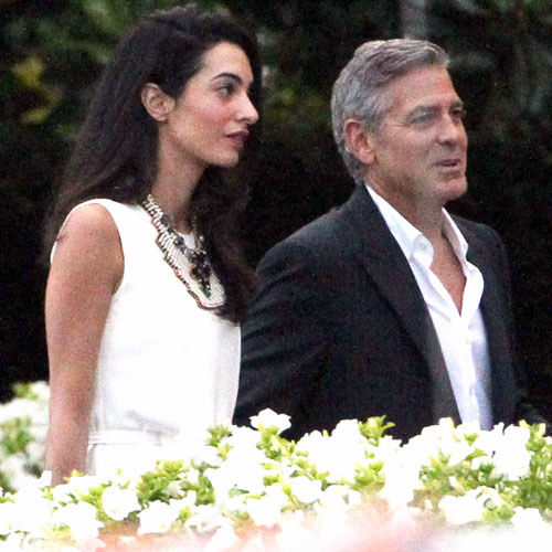 Photos surface of Clooney and Amal scouting wedding venues at Lake Como Ven910