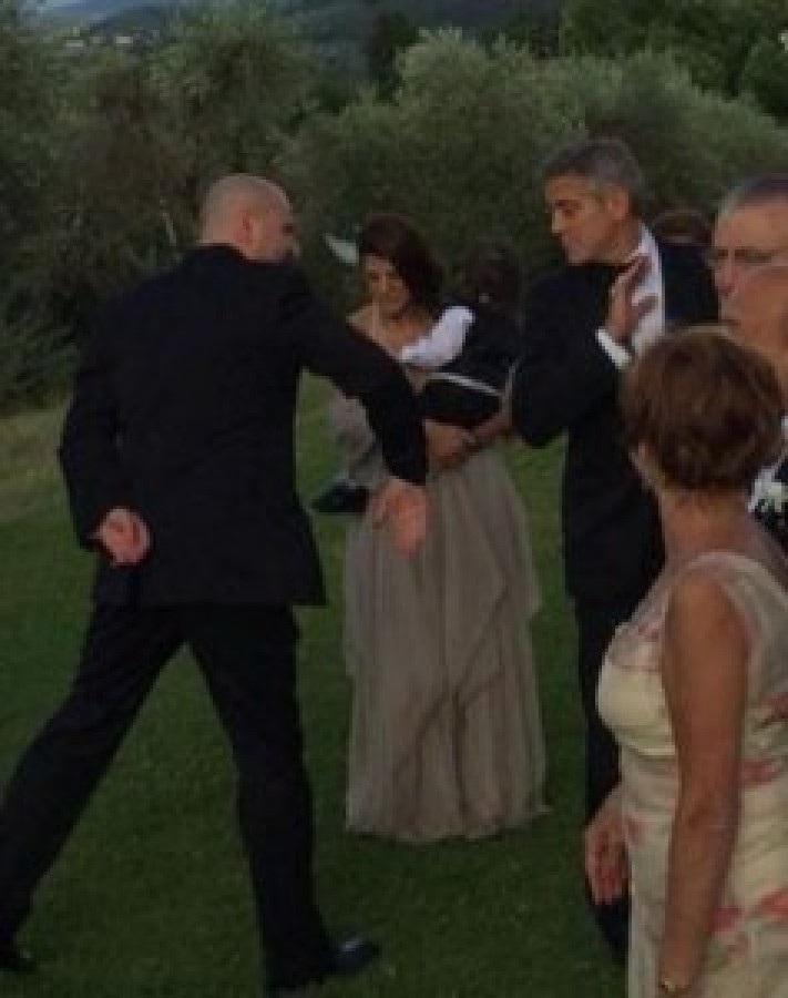 "George Clooney dances at the wedding of ""slain"" Bulgarian tycoon's daughter Weddin10"