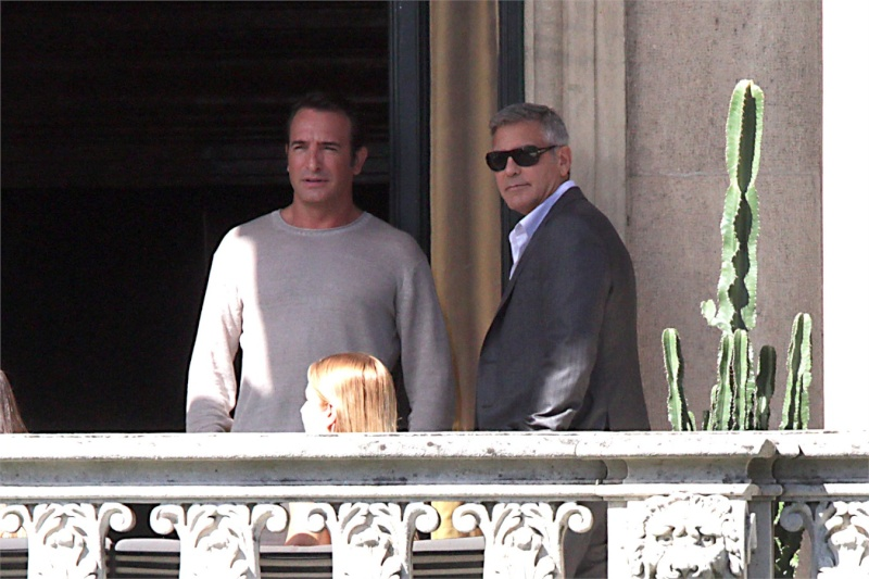George Clooney and JEAN DUJARDIN doing a new NESPRESSO SPOT World211