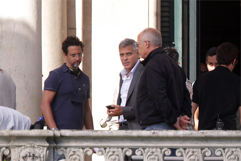 George Clooney and JEAN DUJARDIN doing a new NESPRESSO SPOT World310