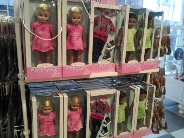 Trixie et mes poupées noires frisées Create10