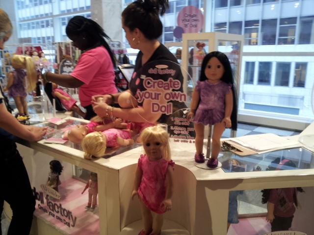 Trixie et mes poupées noires frisées Create11