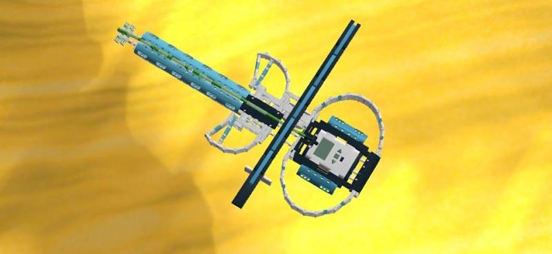CONCEPTION LEGO TECHNIC + NXT Violon10