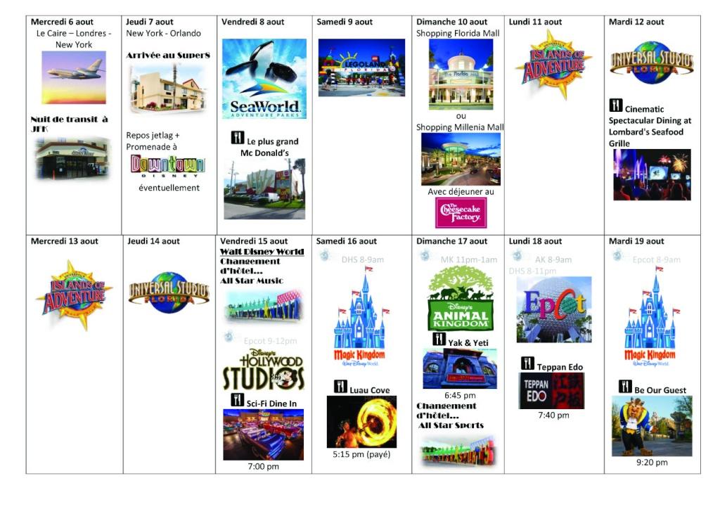 Pre TR : Voyage a Orlando avec DCL pour aout 2014 - Page 2 Planif12