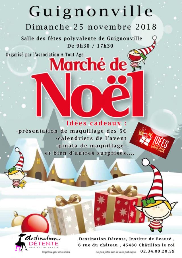 Marché de noel  Affich18