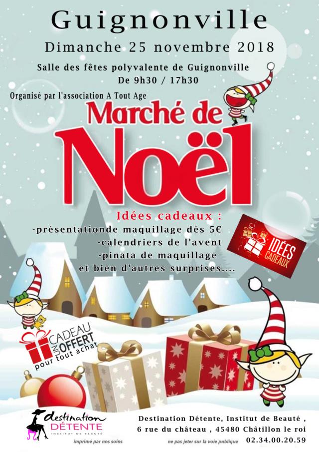 Marché de noel  Affich19