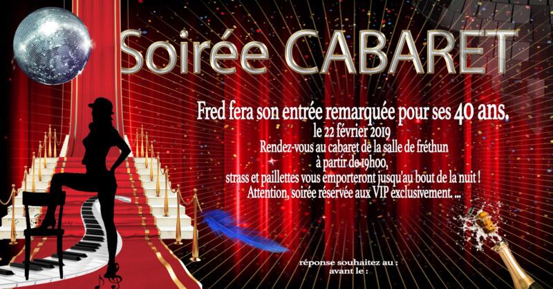 anniversaire surprise theme cabaret (40 ans) Cabare11