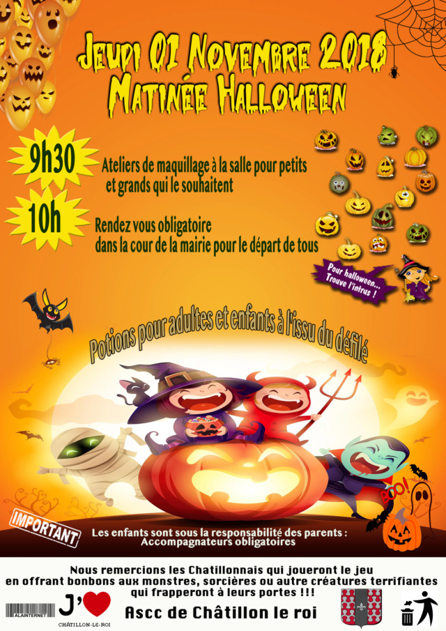 Affiche association Halloween 2018 Halowe10