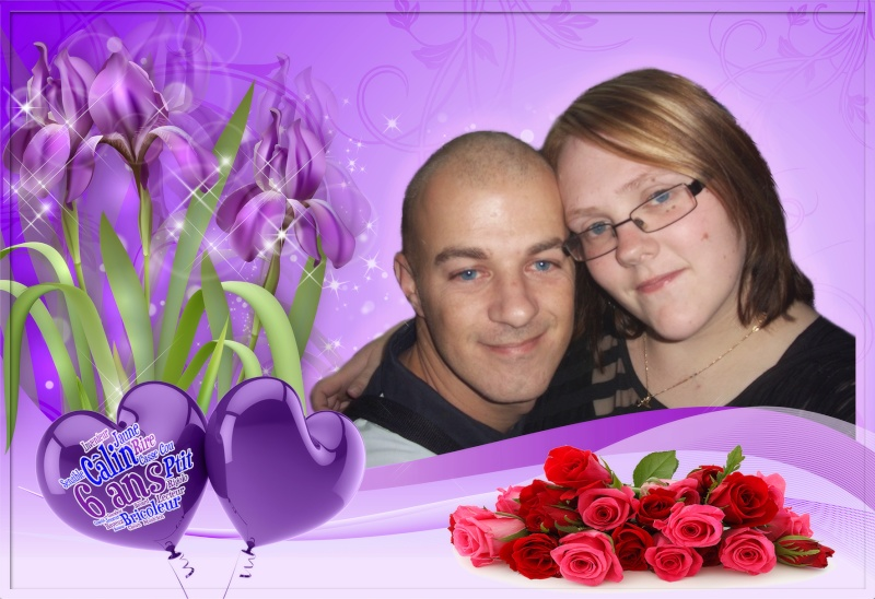 Montaga amour pour nos 6 ans et un montage une une amitié Iris2_10
